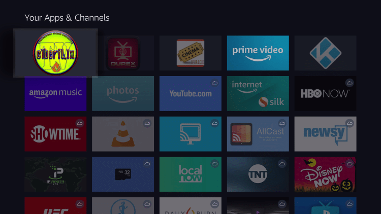 Install Cyberflix TV on Firestick
