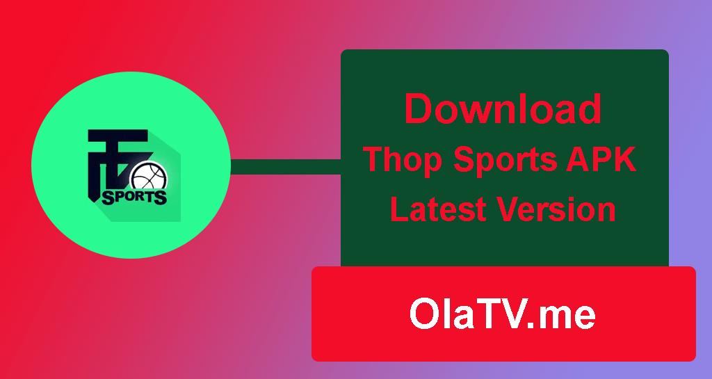 Download Thop Sports APK Latest Version