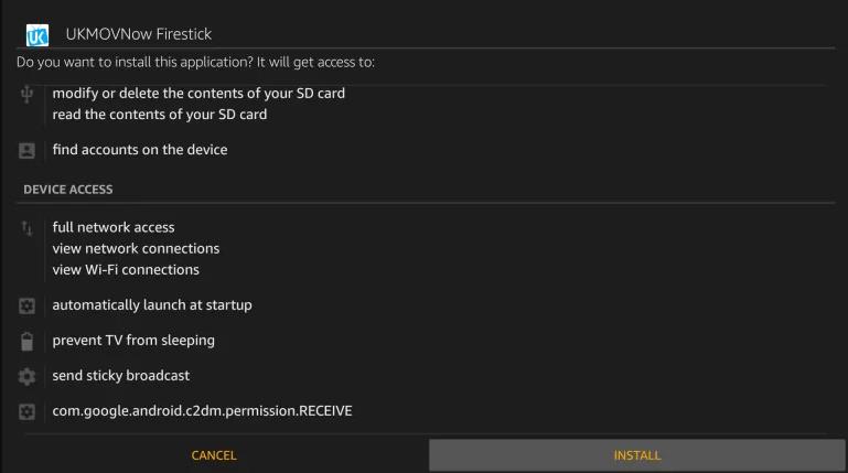 UKMOVNow Firstick Install