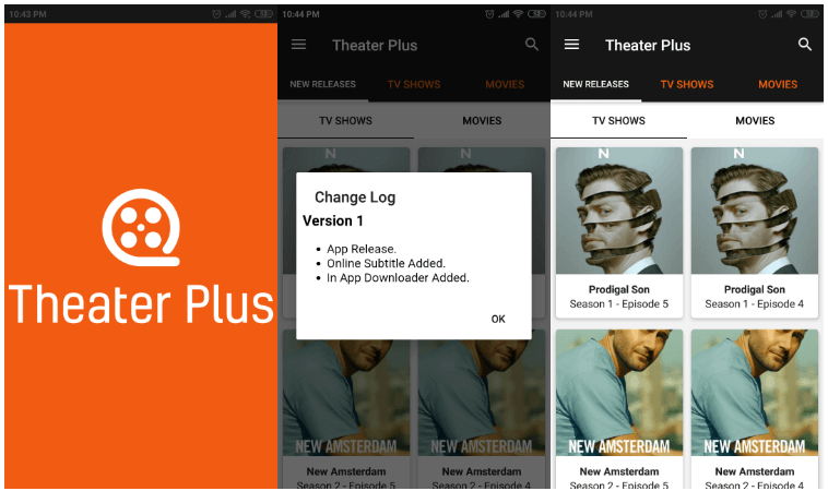 Theater Plus App