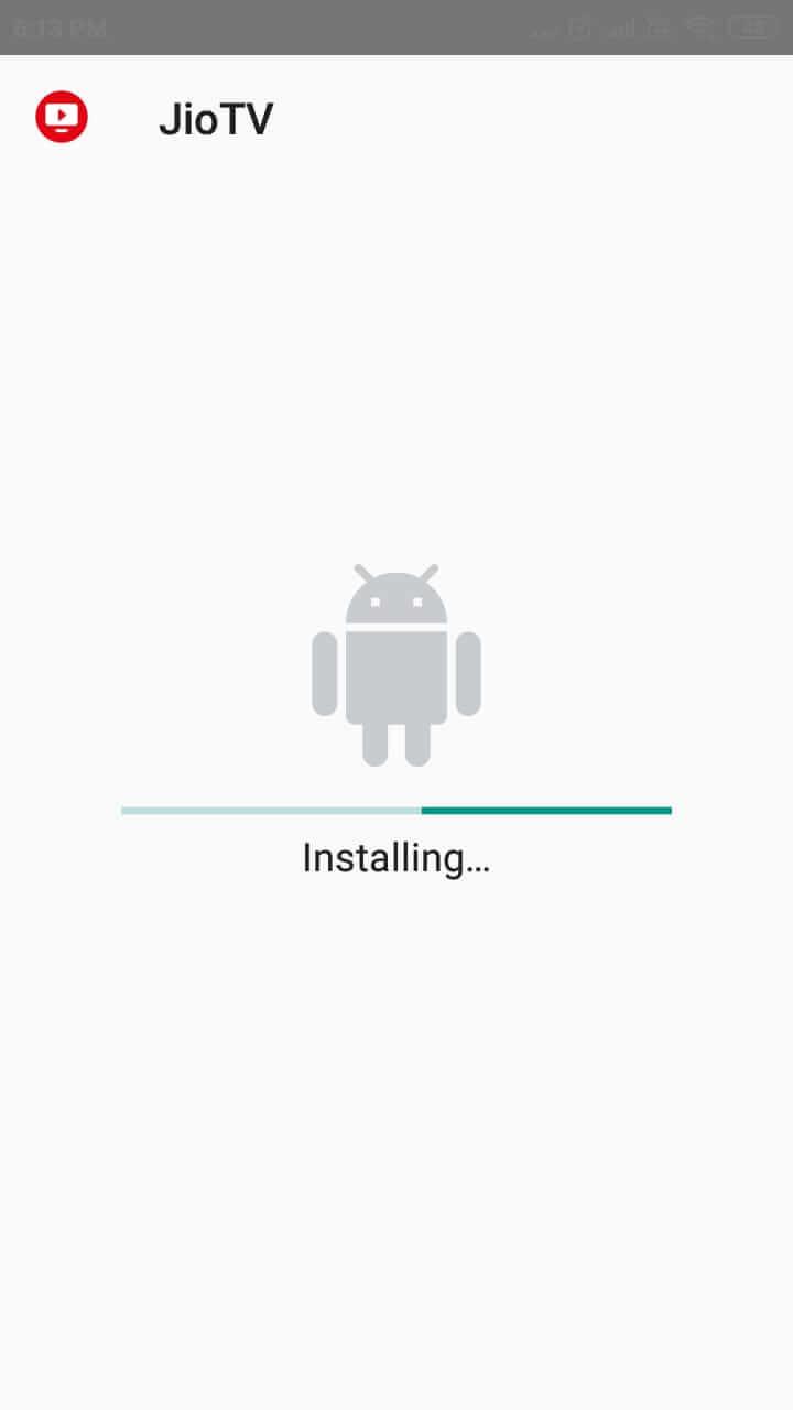 JioTV Install
