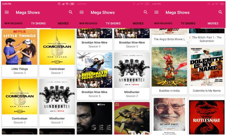 Mega Shows APK