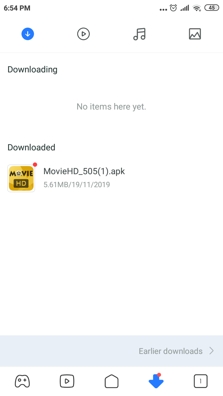 Movie HD Install on Android
