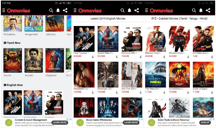 OnMovies App