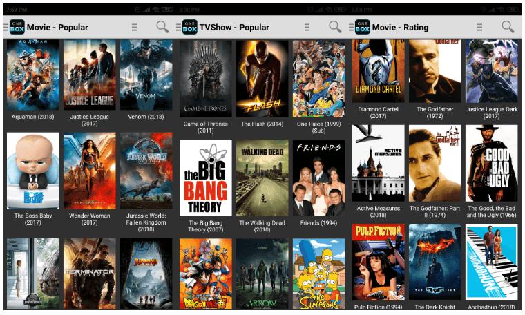 OneBox HD App