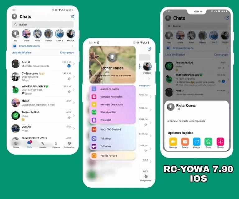 RC YoWhatsApp App
