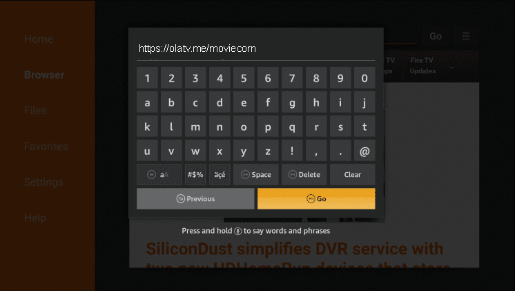 Install MovieCorn on Firestick