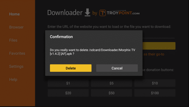 Install Morphix TV on Firestick