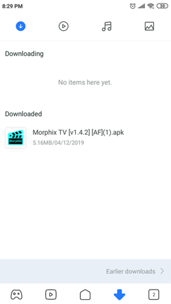 Install Morphix TV on Android Smartphones