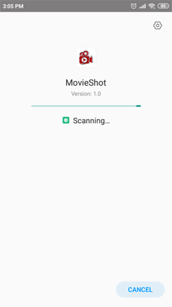 Install MovieShot APK on Android Smartphones