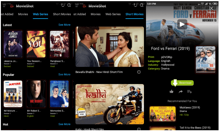 MovieShot APK