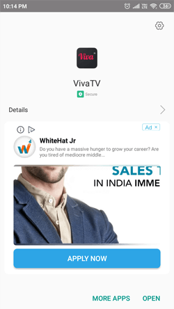 Install Viva TV on Android Smartphones