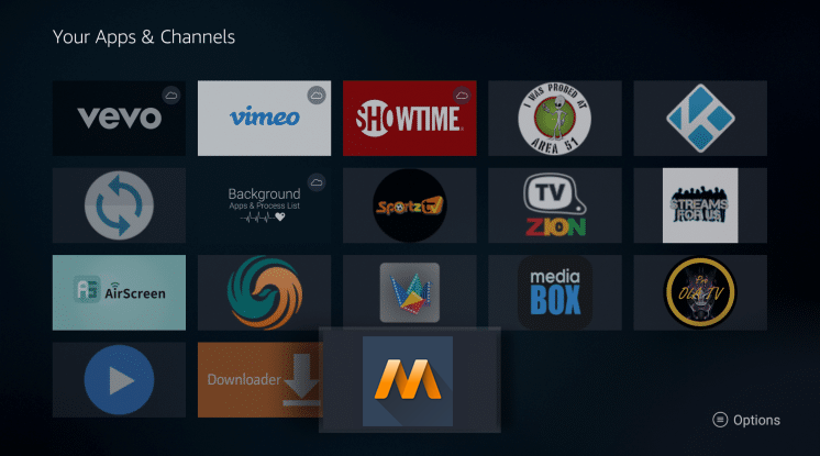 Install MovieBase APK on Firestick