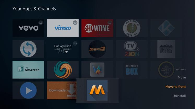Install MovieBase APK on Firestick