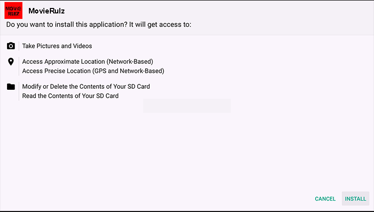 Install Movierulz App on Firestick