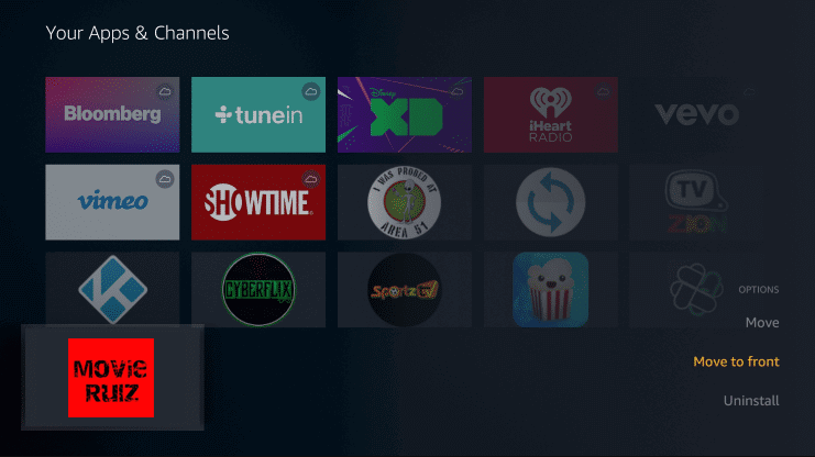 Install Movierulz on Firestick