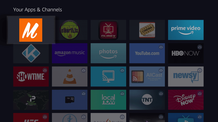 Install Megadede App on Firestick