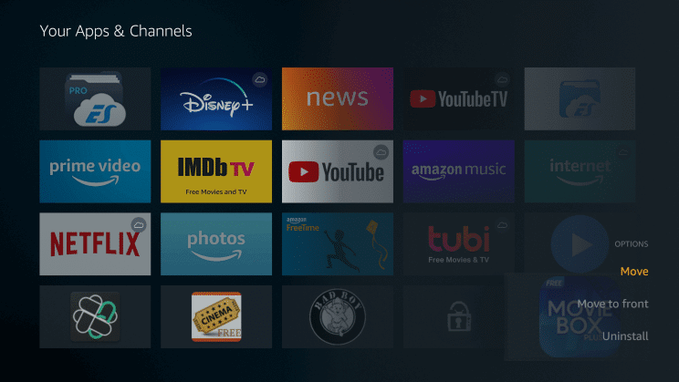 Install HD Movie Box APK on Firestick