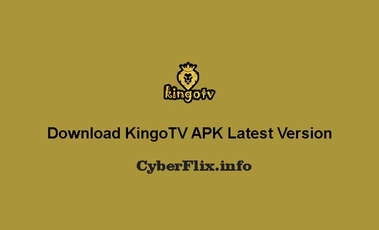 Download KingoTV APK Latest Version