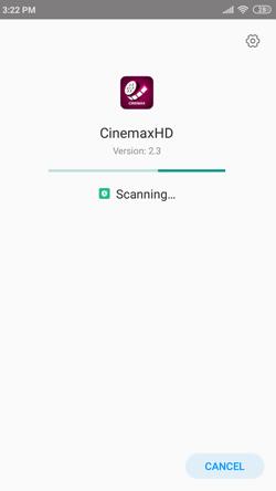 Install CinemaxHD APK on Android Smartphones