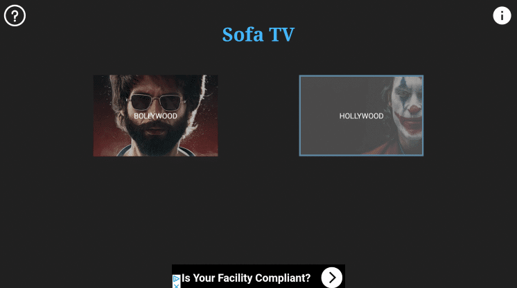 Install Sofa TV App on Firestick