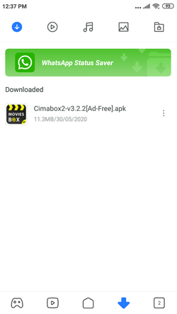 Install Cimabox2 on Android Smartphones
