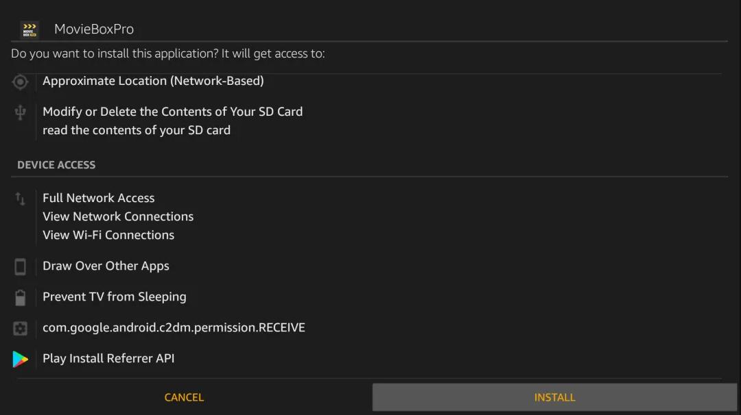 Install Moviebox on Firestick